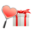 gift for valentine vector image vector image