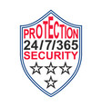 icon sign protection and security symbol vector image vector image