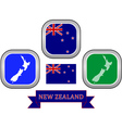 symbol of New Zealand vector image vector image