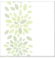 Fabric textured abstract leaves vertical seamless vector image