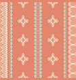 abstract seamless pattern of dainty vector image vector image
