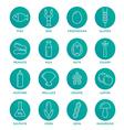 Allergen icons set vector image vector image