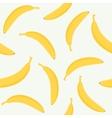 Banana seamless pattern vector image vector image