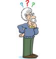 Cartoon Albert Einstein Thinking