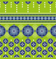 geometric ornament for weaving knitting vector image