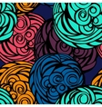 Seamless bright pattern vector image