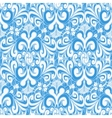 Seamless vintage blue background vector image vector image