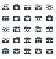 camera icons or symbol on white background vector image
