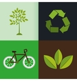 eco friendly design vector image vector image