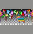 seamless cinco de mayo party vector image vector image