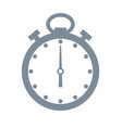 timer and time grey object vector image vector image
