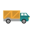 truck transportation delivery design vector image vector image