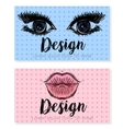 two business card template for beauty salon