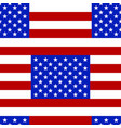 usa flag seamless pattern vector image vector image