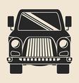 Vehicle design vector image vector image