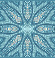 blue doodle surface design vector image