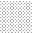 checkered flower pattern seamless vector image vector image