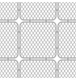 metal fences wire mesh vector image vector image