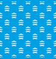 moustaches pattern seamless blue vector image vector image