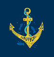 Nautical lettering design