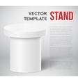 Photorealistic Speaker Stand Tribune vector image