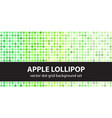 polka dot pattern set apple lollipop seamless vector image vector image