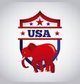 republican political party animal vector image vector image