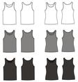 Singlets vector image vector image
