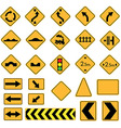 traffic vector image vector image