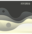 Abstract grey light background forms a smooth vector image