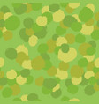 green camouflage paint drops background vector image vector image