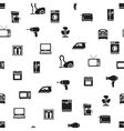 home appliance seamless pattern vector image