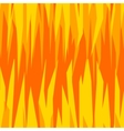 seamless abstract pattern hot orange fire vector image