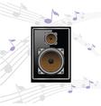 sound speaker vector image vector image