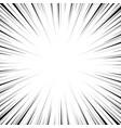 speed line background pop art comic books vector image