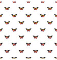 wandered butterfly pattern seamless vector image