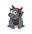 funny little imp Cartoon vector image vector image