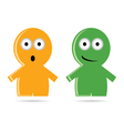 funny people icon vector image vector image