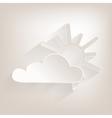 No sun2 vector image vector image