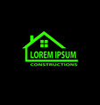 Universal logo for construction company