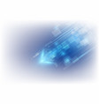 abstract speed technology concept background vector image vector image
