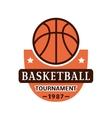 Basketball championship badge