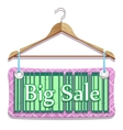 big sale clothes hangers vector image vector image