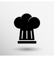 chef hat icon design in format vector image