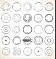 grungy rubber stamps collection vector image vector image