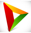 play button generic arrow pointer cursor icon or vector image vector image