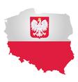 Poland Flag vector image vector image