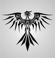 Tribal Phoenix Bird vector image
