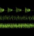 audio equalizer waves vector image