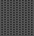 Dark geometric wattled seamless pattern vector image vector image